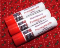 Blackberry Pomegranate .15oz Lip Balm