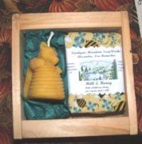 Milk & Honey Soap and Candle Gift