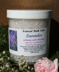 Lavender Bath Salts 16 oz.