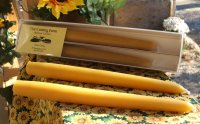 Beeswax Tapers (2)