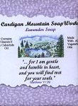 Lavender Soap with Bible Verse Matthew 11:29