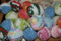 Elizabeth's Catnip Ball, 100% Cotton