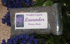 Premium Lavender Buds,  Organic