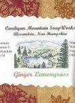 Ginger Lemongrass 3.5oz. Bar  CURRENTLY UNAVAILABLE