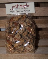 Maple Covered Almonds 3.5 oz.  UNAVAILABLE