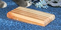 Wooden Slatted Soap Dish