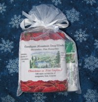 Home for the Holidays 1.75oz Soap with Wintergreen Lip Balm
