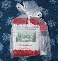New England Berry 1.75oz Soap and Pomegranate Blackberry Lip Balm