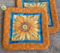 Sunflower Potholder UNAVAILABLE
