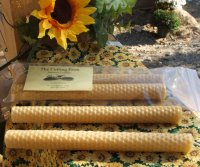 Beeswax Rolled Candles (2)