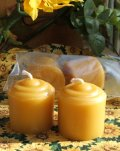 Beeswax Votives (2)
