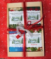 Christmas 4 Bar Gift Box,