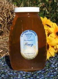 Wildflower Honey 8 oz. Plastic Squeeze Bottle