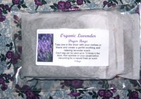 Organic Lavender Dryer Bags and Sachets (3)