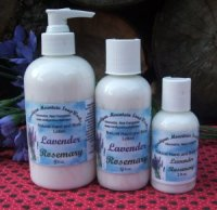 Lavender Rosemary 8 oz. Lotion with Pump