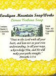 Lemon Verbena Bible Verse Soap