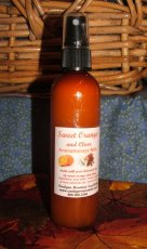 Orange Clove Aromatherapy Mist 4 oz.