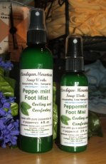 Peppermint Foot Mist 2 oz.